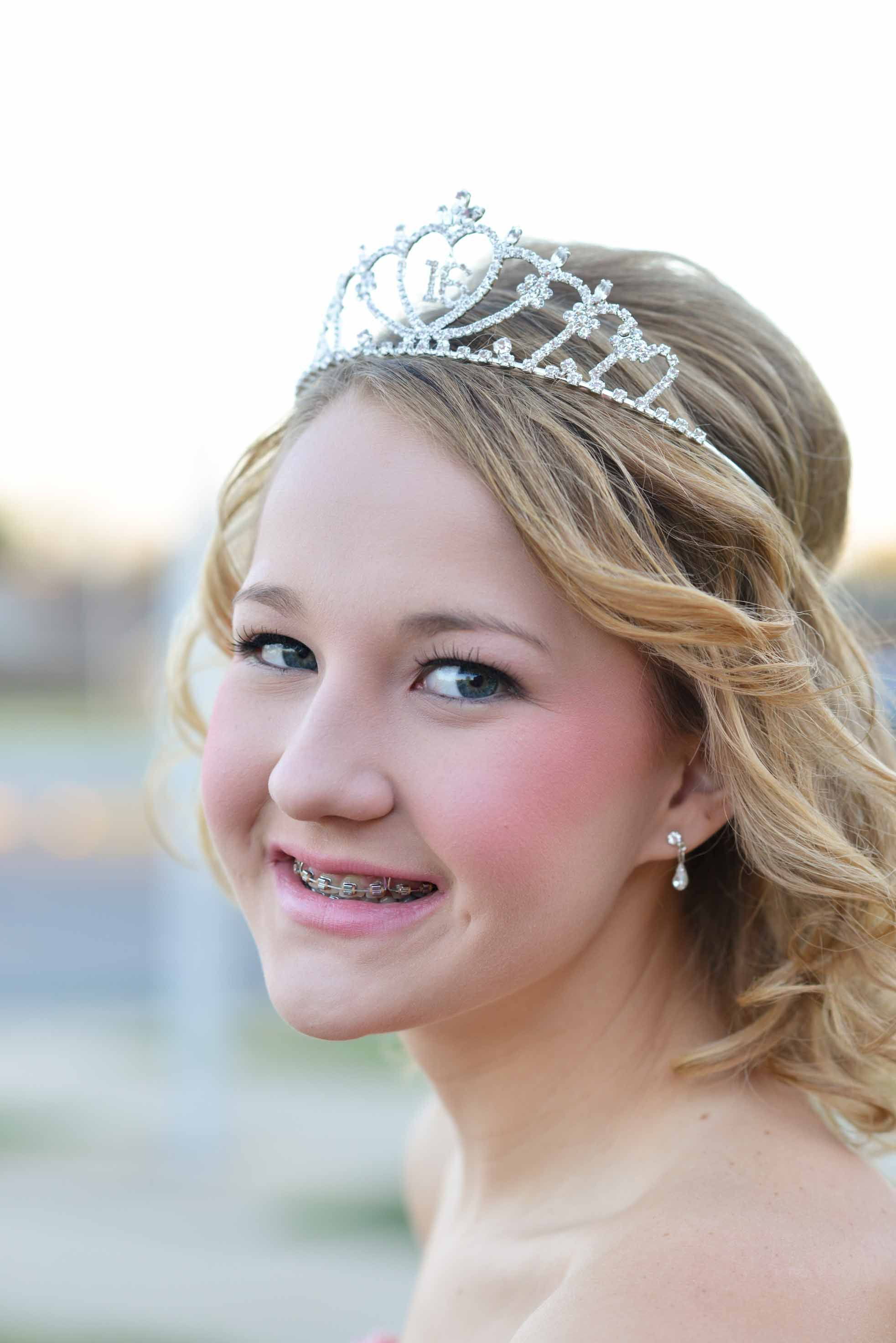 "My Sweet Girl With Her ""Sweet 16"" Tiara!"