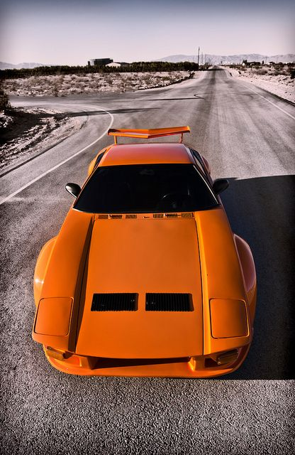 Orange Pantera High Front Vert Motion Machines Sports Cars
