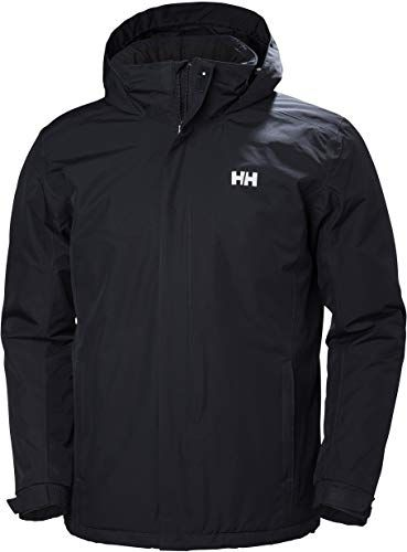 New Helly Hansen Men's Waterproof Dubliner Insulated Jacket Packable Hood Cold Weather online #womenvest