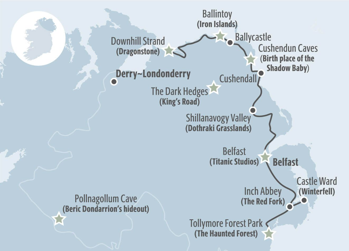 Image of Itinerary Map Travel Pinterest Ireland Dublin