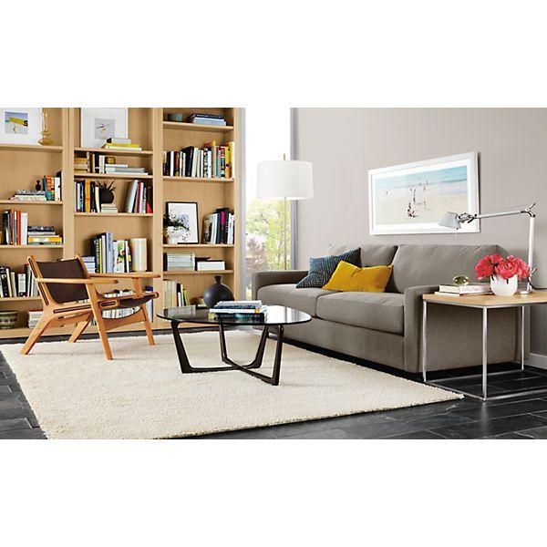 "Room & Board - Arden Natural Low Shag 6'7""x9'10"" Rug"