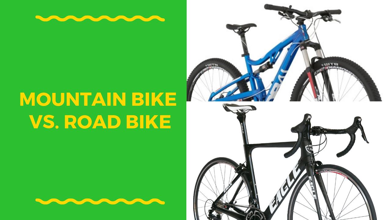 Mountain Bike Vs Road Bike Bike Road Bike Downhill Bike
