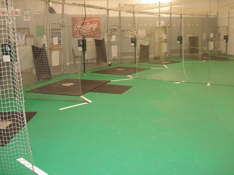 Indoor Baseball Softball Facility Backyard Baseball Indoor Batting Cage Baseball Softball