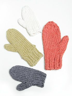 Spud & Chloë — Fun pattern collection for both kids and adults in knit and crochet — Pattern Store » Outsider Mittens