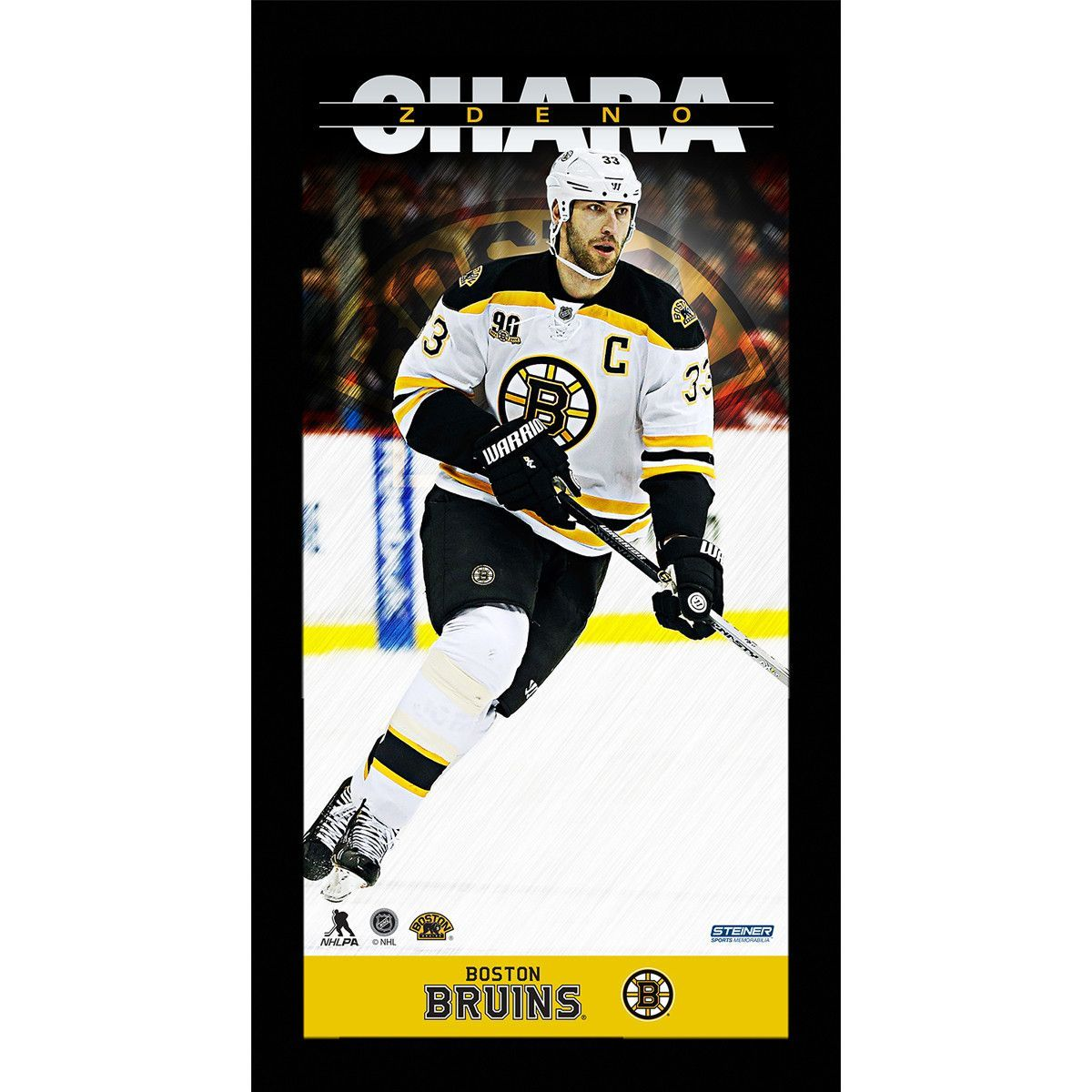 Zdeno Chara Player Profile 10x20 Framed Photo - Celebrate one of the ...