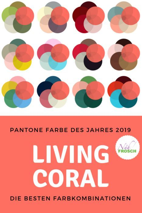 Pantone Color 2019 How to combine Living Coral