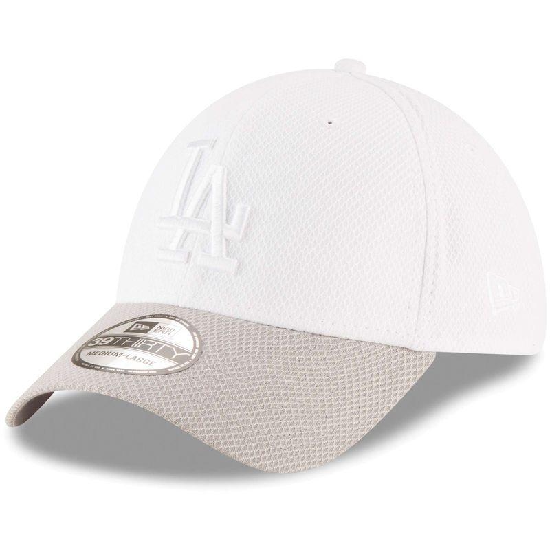 56fa939d Los Angeles Dodgers New Era Tone Tech Redux 2 39THIRTY Flex Hat ...