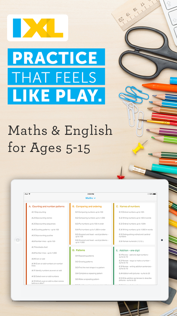 Fun & interactive maths and English app for NZ students! | About IXL ...