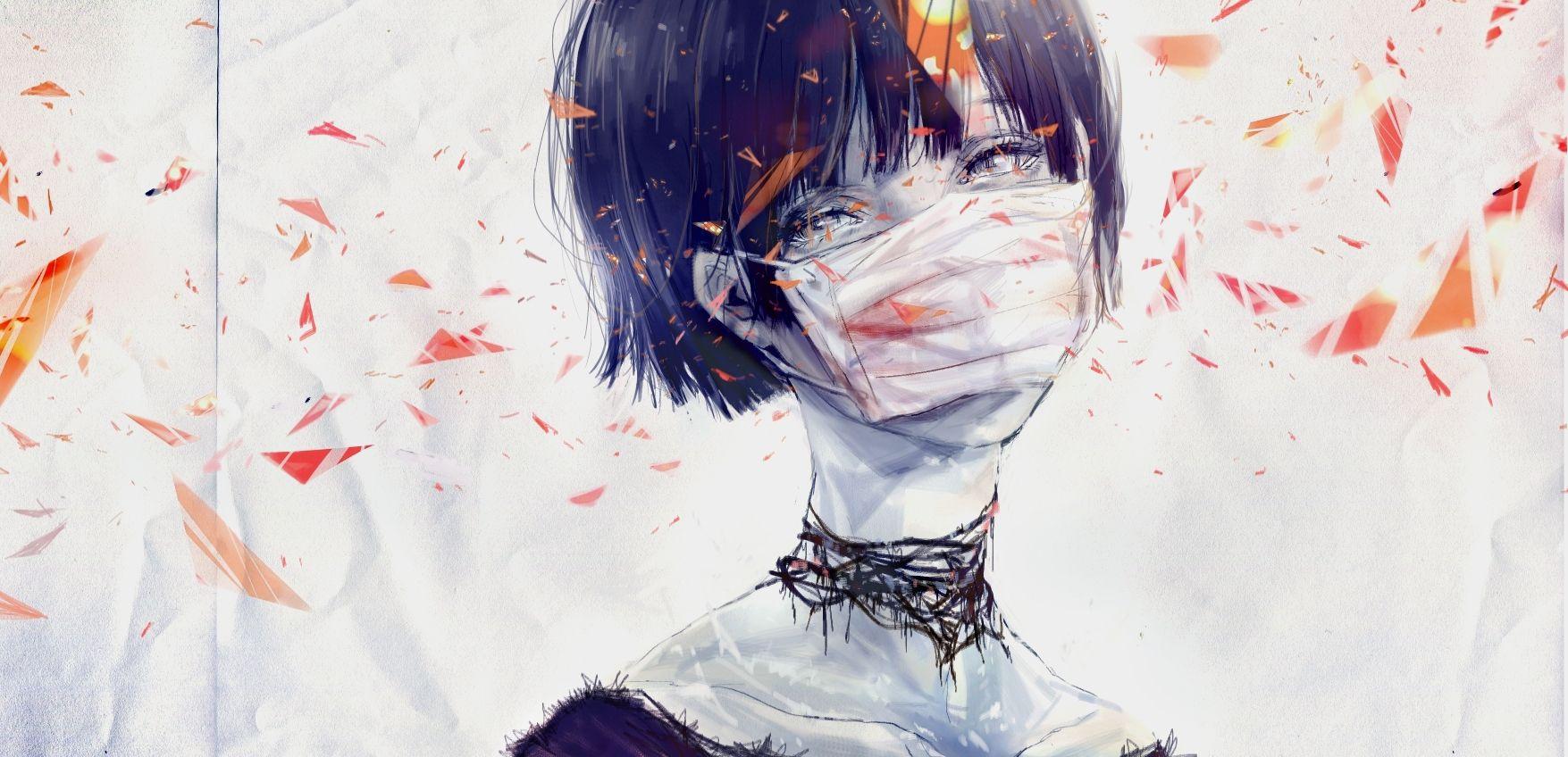 Medical Mask Girl Anime Anime Images Art