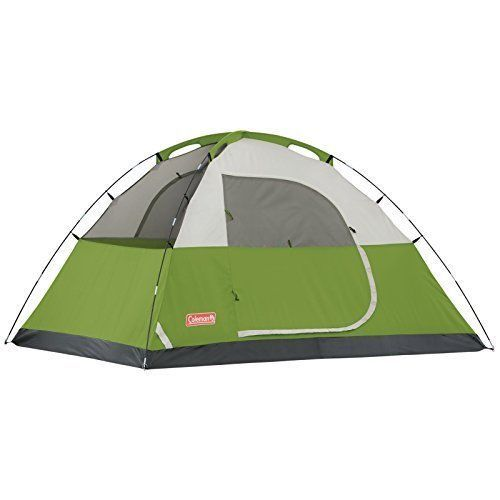 4 Person Family C&ing Tent Green Sundome Weatherproof Electric Access Port #Coleman #Dome  sc 1 st  Pinterest & Coleman Sundome 4 9 x 7 Tent | Tents and Family camping