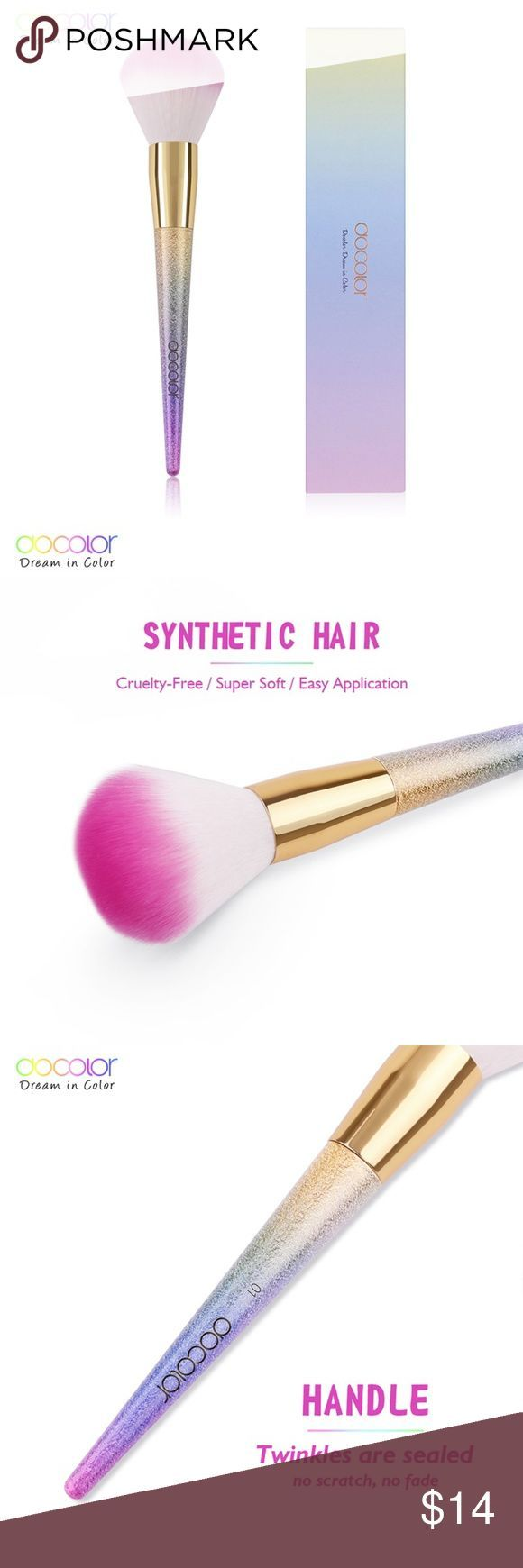 Pro Blush  Bronzer Brush Ombre SuperSoft Rainbow This highquality blushbronzSkincare