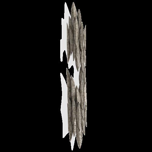 Porta Romana - TWL91A, Leaf Wall Sconce - Cosmic Silver