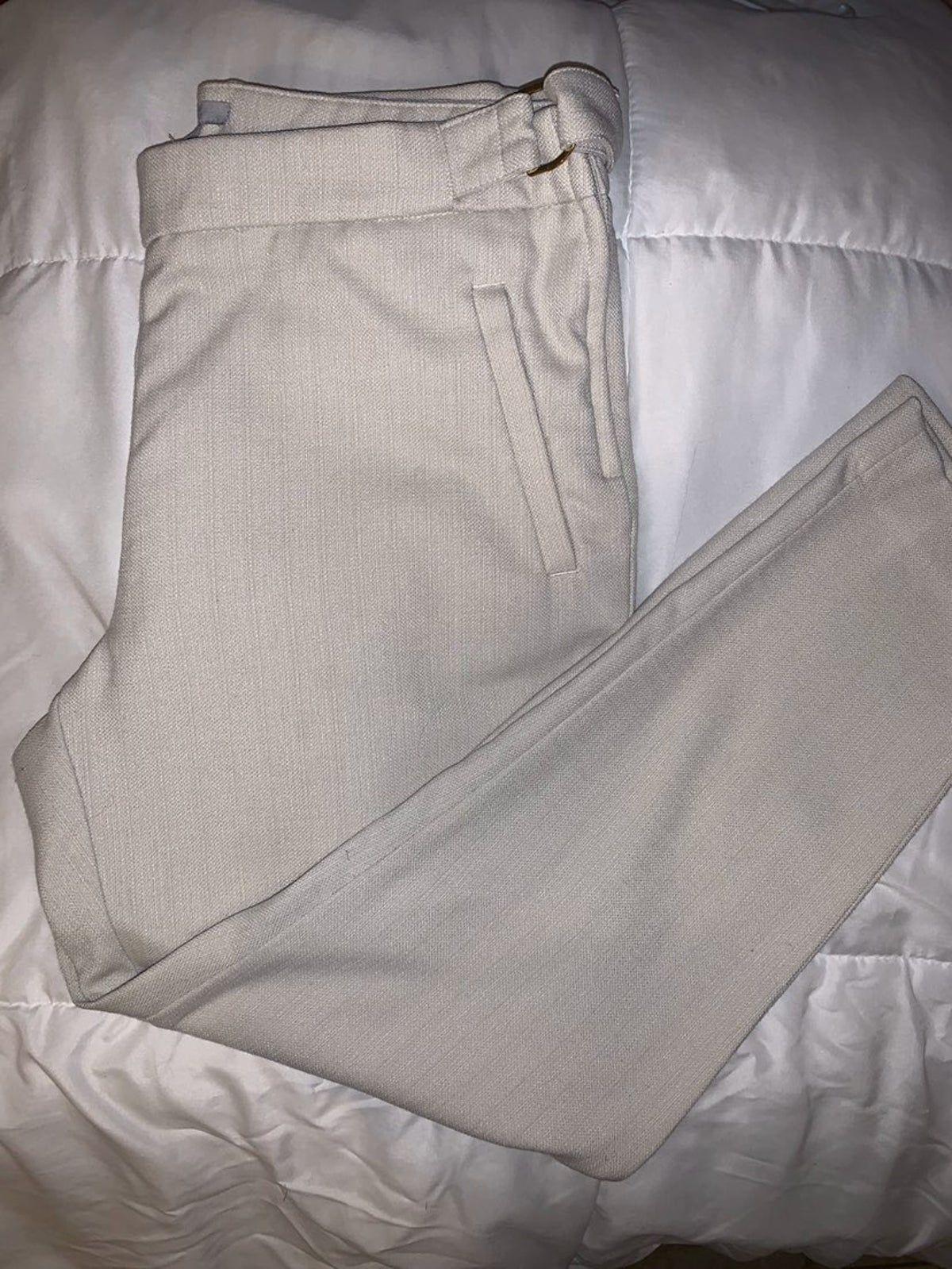 Canvas tan work/dress pants