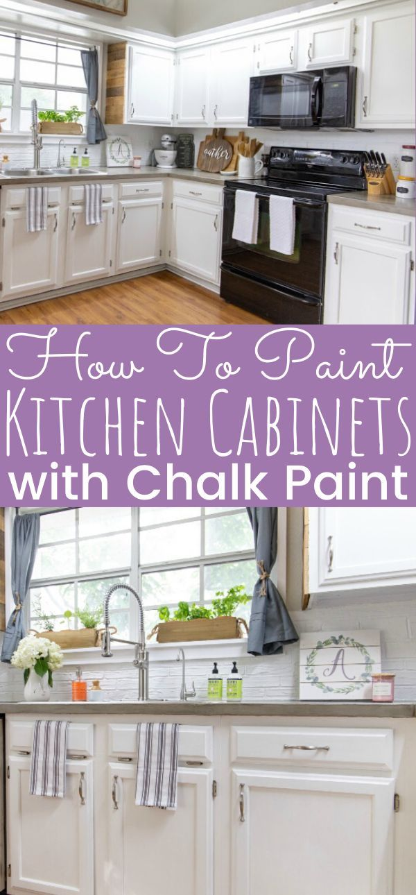 Painting Kitchen Cabinets With Chalk Paint Simply Today Life Chalk Paint Kitchen Cabinets Diy Kitchen Renovation Kitchen Cabinets