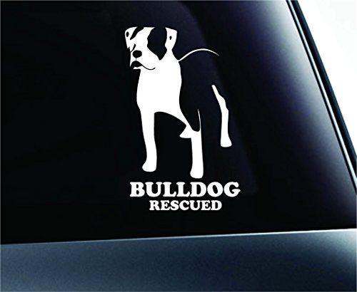 American Bulldog Rescued Dog Symbol Decal Funny Car Truck Sticker Window (White) ExpressDecor http://www.amazon.com/dp/B00S5CZXPM/ref=cm_sw_r_pi_dp_EuyTub06QC67K