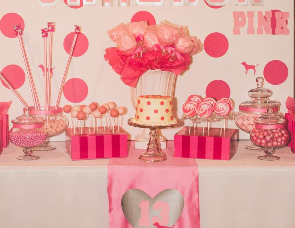 Victorias Secret Pink  Birthday Camerons VS Pink 13th  ~ 214028_Birthday Party Ideas Pink