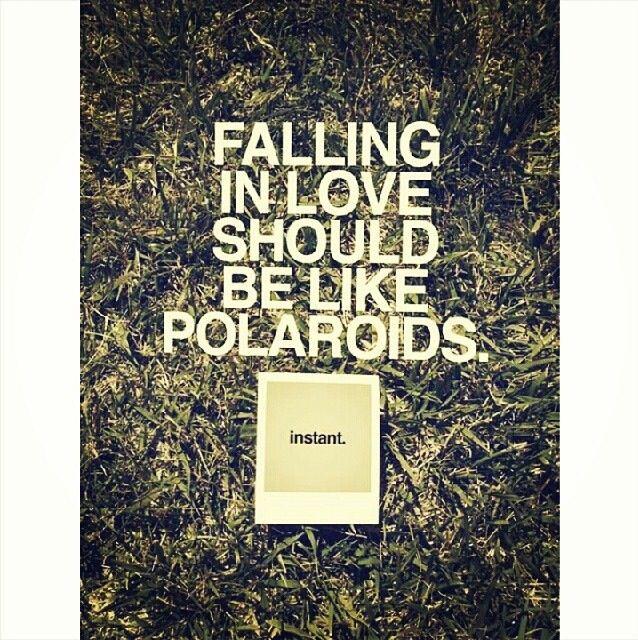 Polaroids Hipster True Love Quotes Tumblr Quote Cute