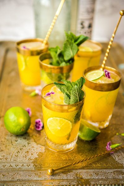 Photo of Mango Mezcal Breeze – Bollywood Themed Dinner Party