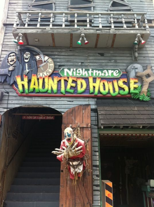 Nightmare Haunted House Paika Myrtle Beach Sc