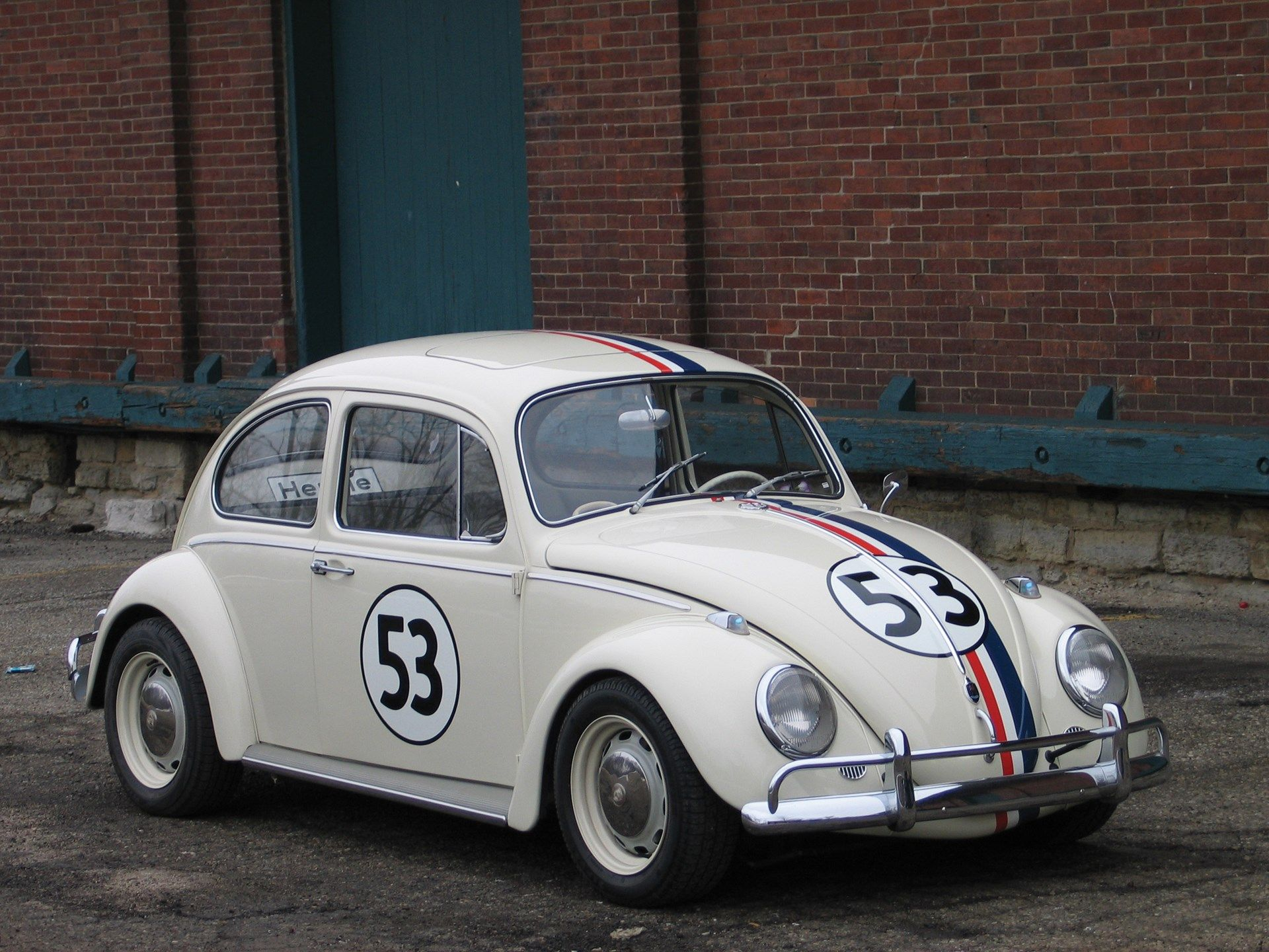 1967 Herbie The Love Bug With Images Classic Cars Muscle