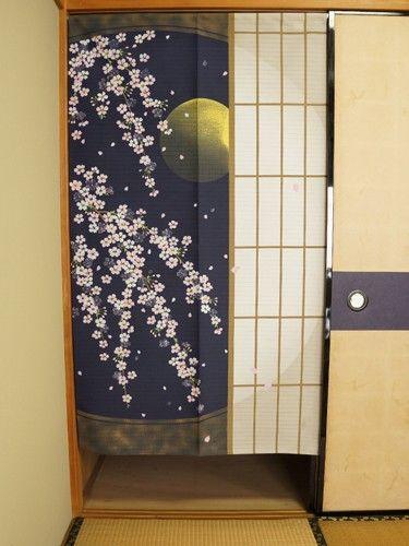 Shyouji ni Yozakura Dimensions: 85cm x 150cm / 33.5in x 59.1in Made in Japan