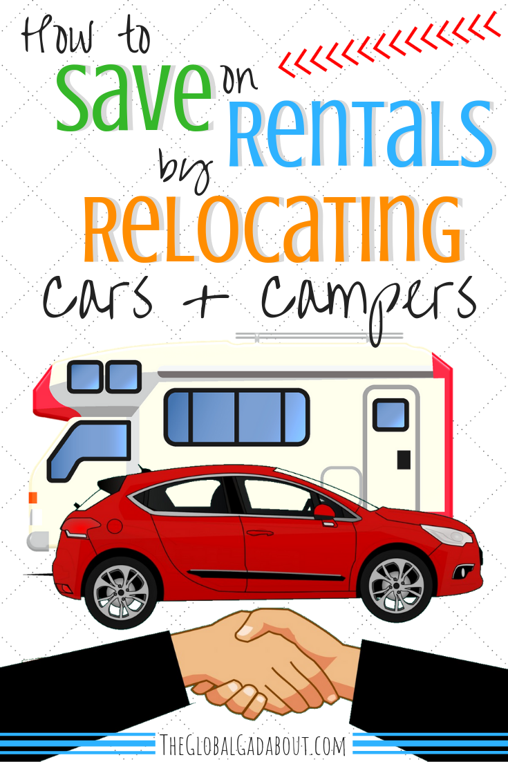 Save On Rentals By Relocating Cars Campers Relocation Rental Car Camper