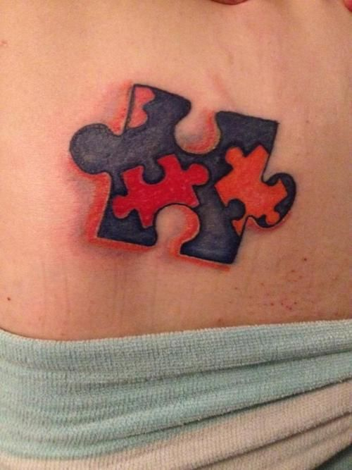 Autismsymboltattoo Tattoo For Autism For My Friend Laura