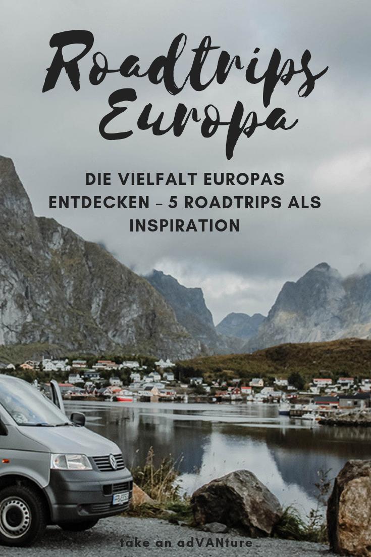 Discover the diversity of Europe - 5 road trips as inspiration // take an adVANture - #advanture #discover #diversity #europe #inspiration #trips - #RecipesHoliday