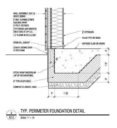 Passivhaus Progression April 7 2011 Typical Foundation