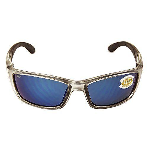 80fb37159e Costa Del Mar Corbina Sunglasses Silver Blue Mirror 580Plastic ...