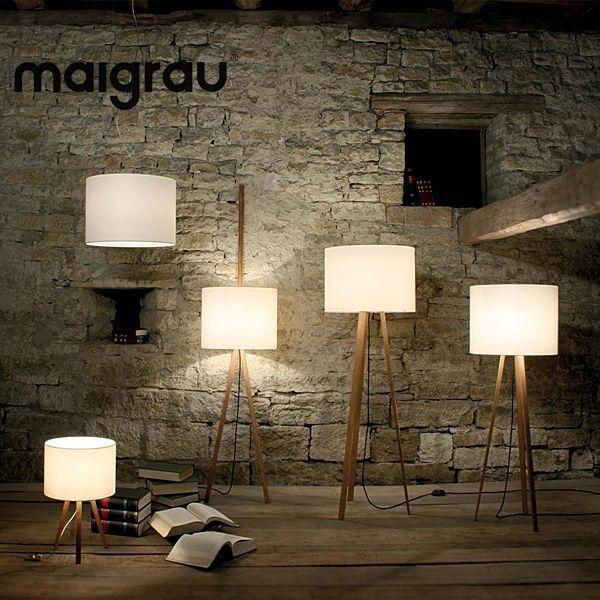 LUCA Lampen Verschnern Ihr Wohnzimmer Bro Oder Schlafzimmer MAIGRAU