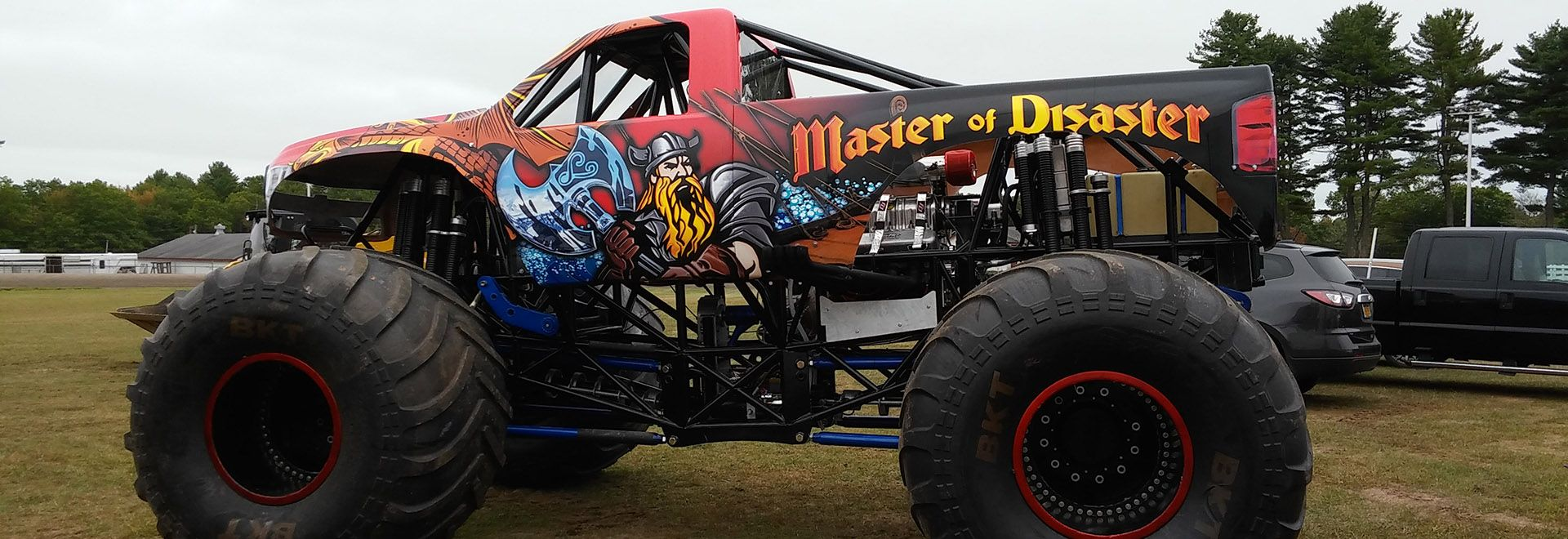 Master Of Disaster A Reality Monster Trucks Disasters Trucks