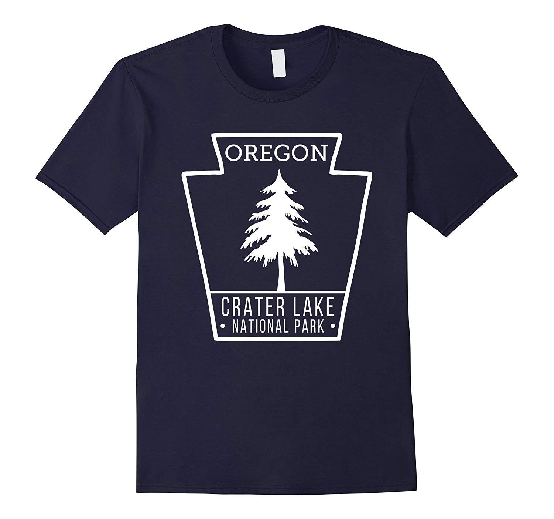 Crater Lake National Park T Shirt Oregon Badge-TH