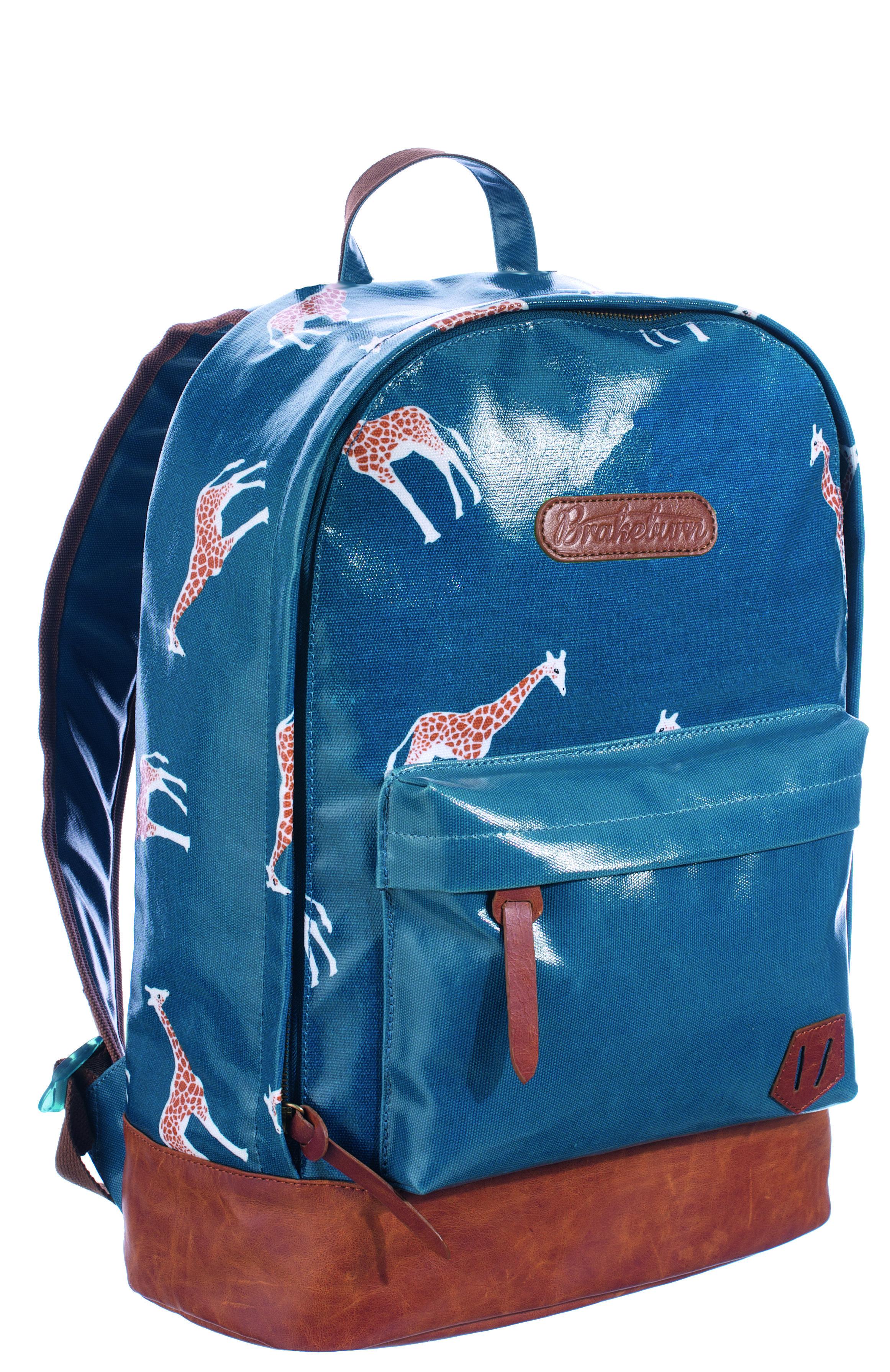 Ladies Giraffe Back Pack Teal Womens tote bags, Bags