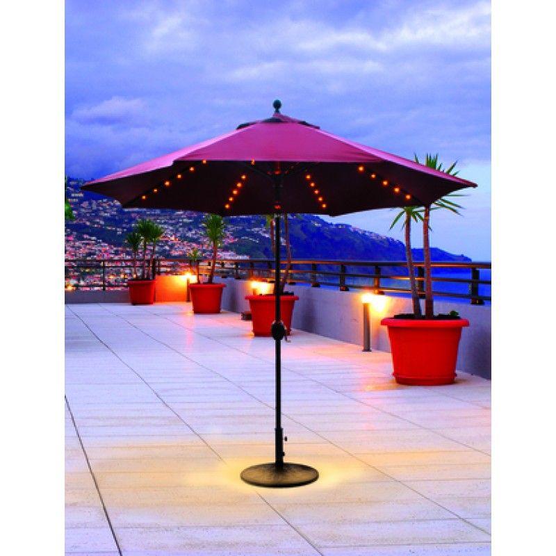 Special Outdoor Umbrella Lights | Outdoor Furniture Design