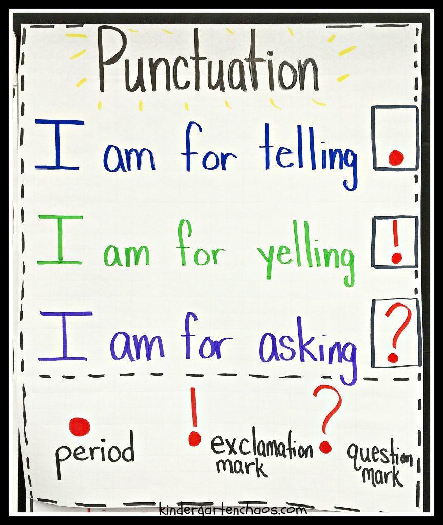 Must make kindergarten anchor charts also teaching rh pinterest