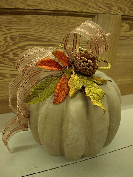 fall pumpkin decorating with a twist, crafts, decoupage, halloween decorations, repurposing upcycling, seasonal holiday d cor