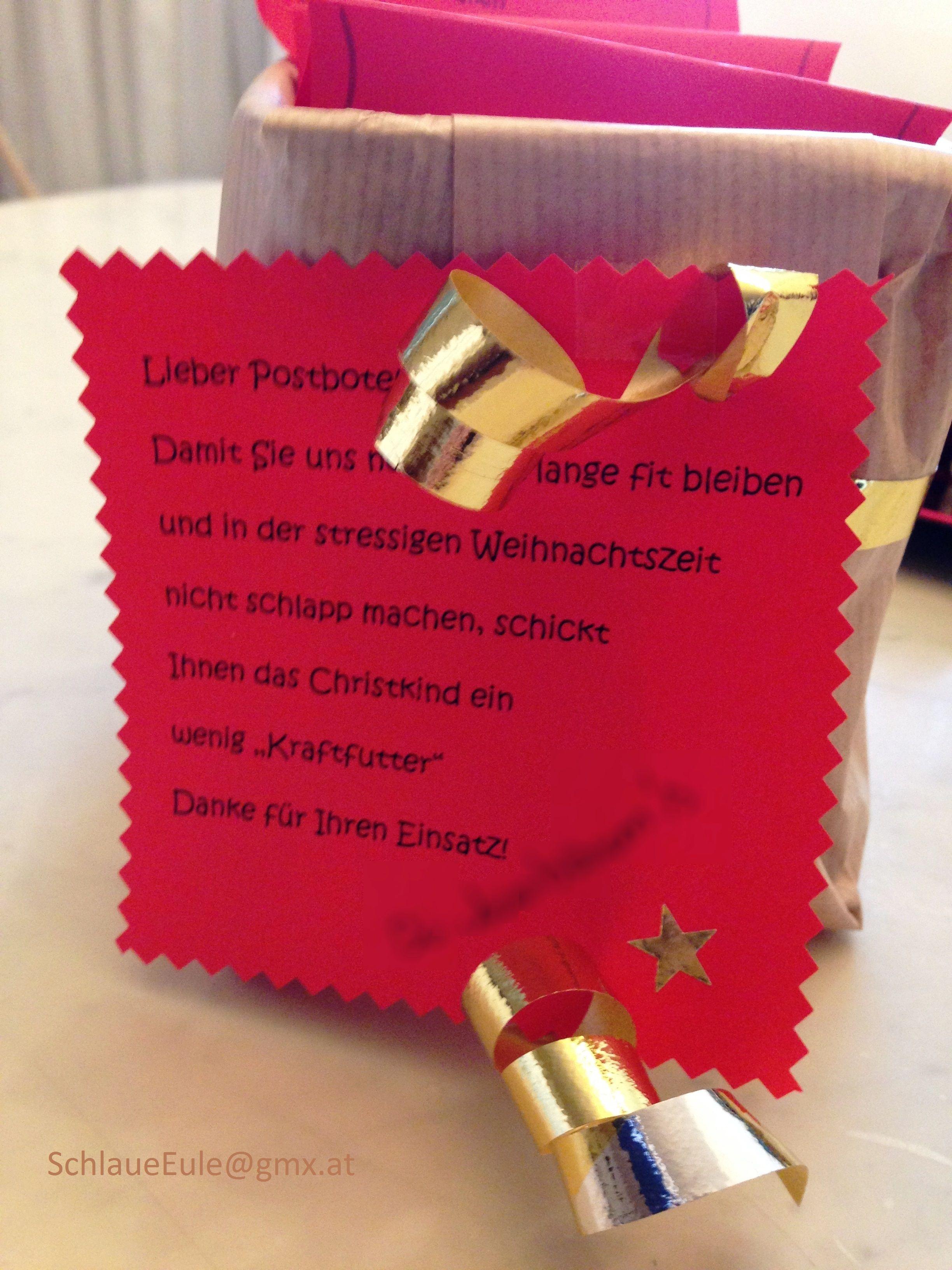 35++ Geschenk fuer den postboten 2021 ideen