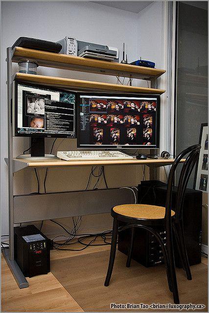 Scrivania Ikea Fredrik.Ikea Fredrik Computer Desk Computer Stuff Computer