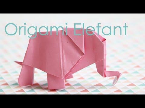 Photo of Origami Elefant – Anleitung – Talu.de