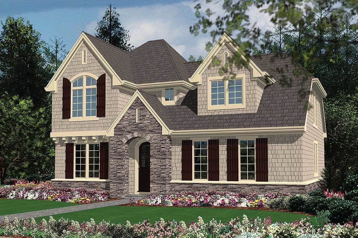 Plan 69448am Delightful Curb Appeal In Two Versions Cottage House Plans House Plans House