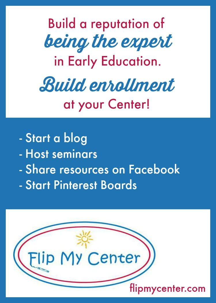 Build Enrollment At Your Child Care Center By Showing Your Community You Are The Expert In Child Care Get Childcare Center Childcare Jobs Childcare Business