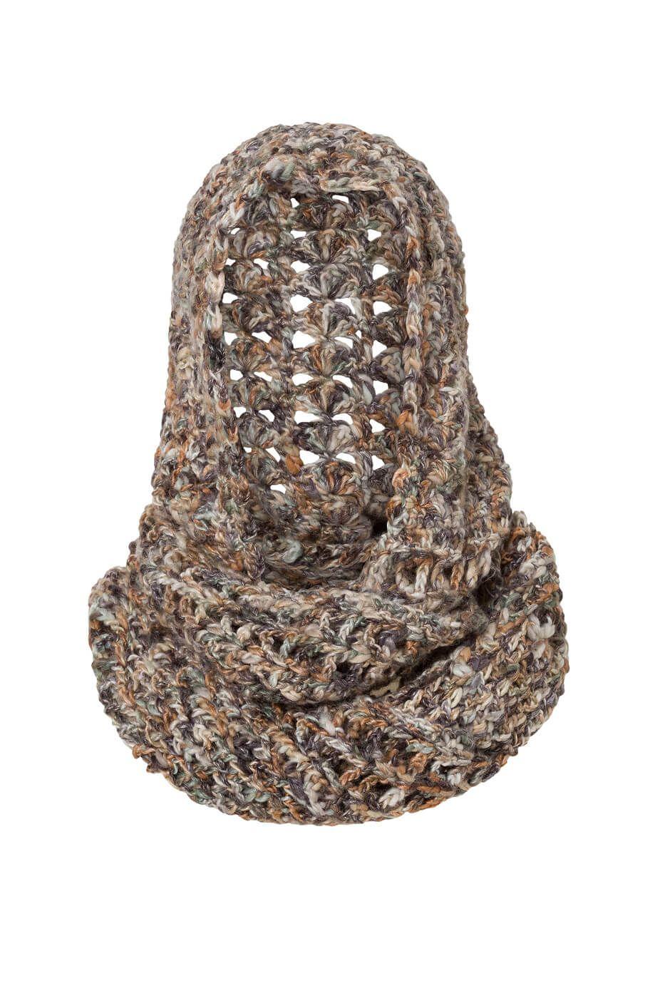 Gehäkelter Scoodie Kapuzenschal Pinterest Crochet Knitting