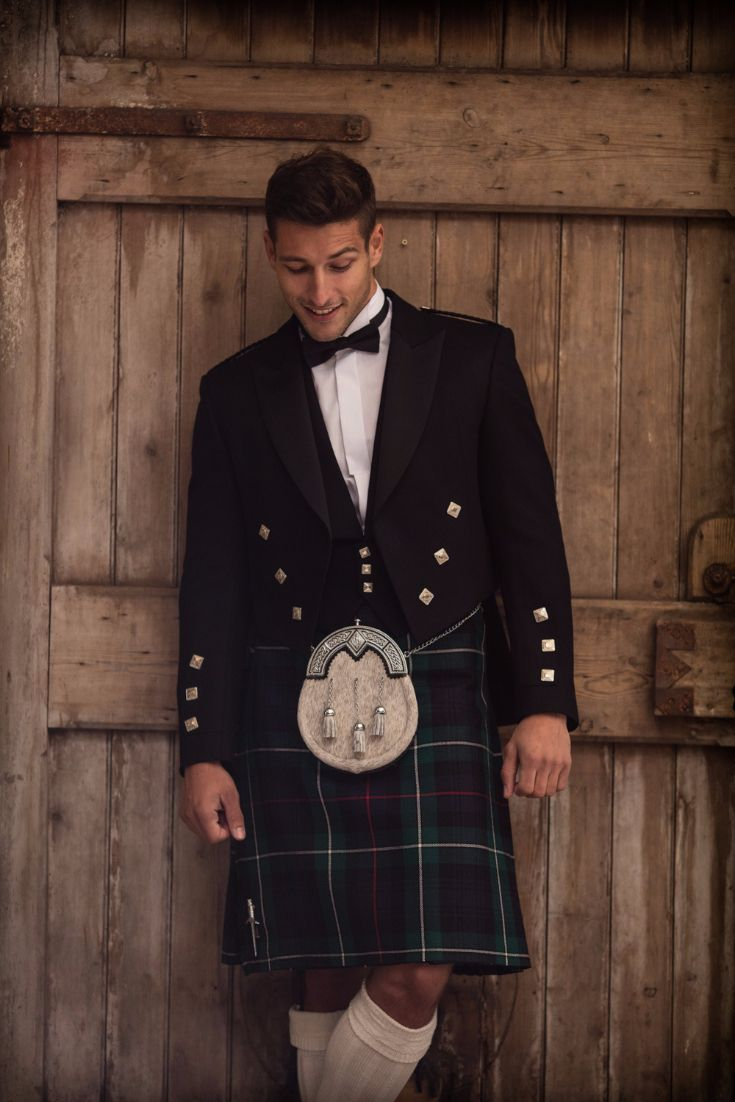 Here S A Modern Mackenzie Tartan Another Popular Wedding Choice This Kilt Has Been Paired With The Traditional Scottish Prince Charl Men In Kilts Kilt Tartan [ 1102 x 735 Pixel ]