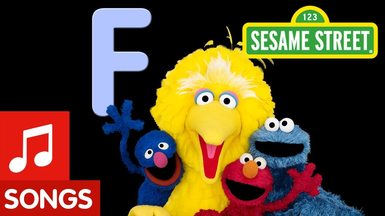 Sesame Street Letter F Letter of the Day