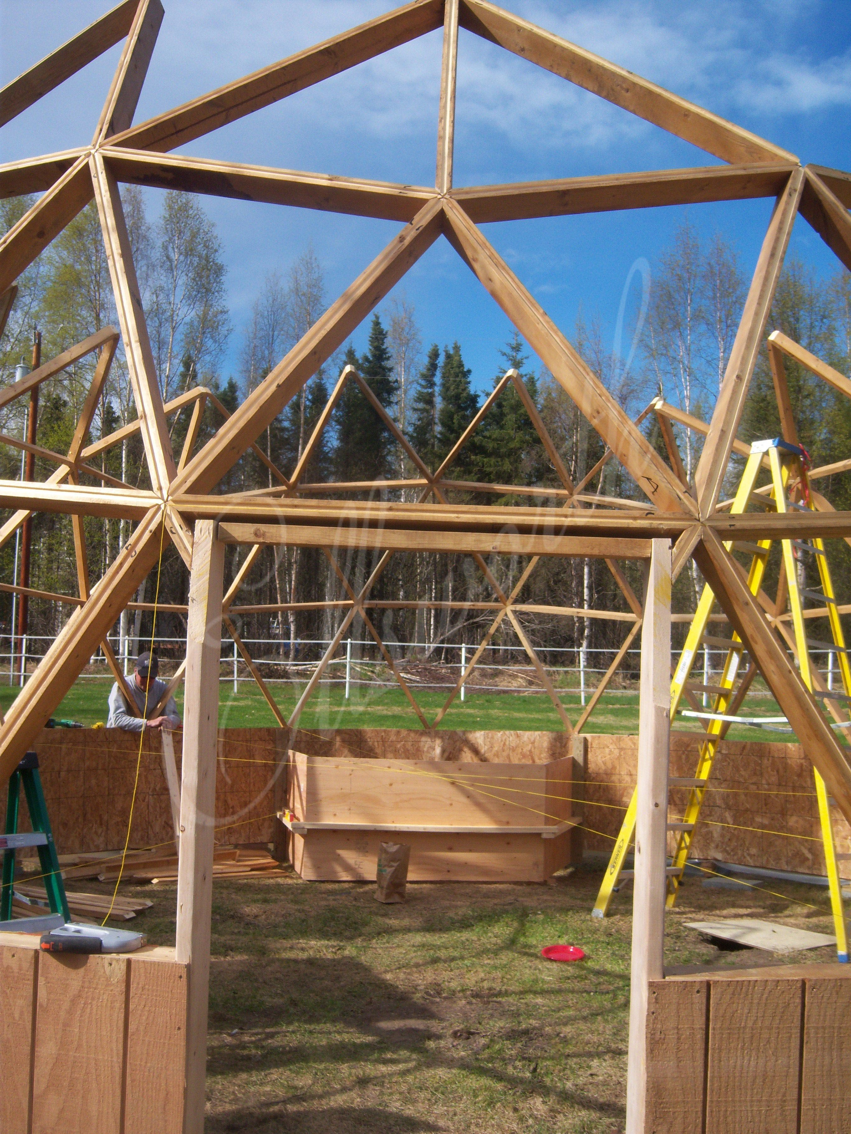 build greenhouse dome kit in your backyard build a greenhouse