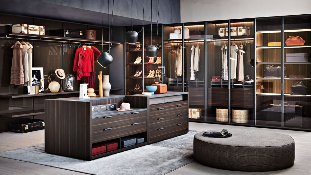 Gliss Master-Window Wardrobes - Molteni