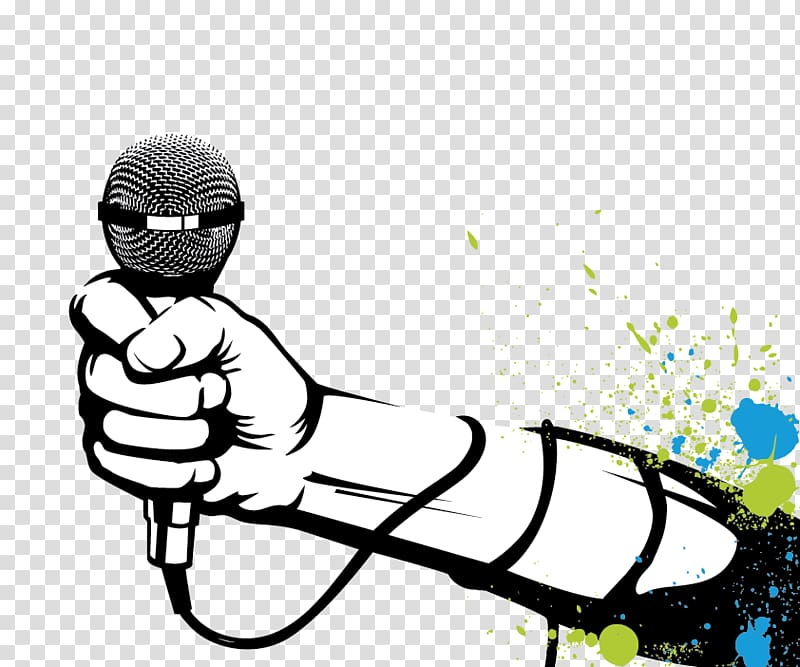 Microphone Hip Hop Music Rapper Microphone Transparent Background Png Clipart Music Illustration Hip Hop Music Music Drawings