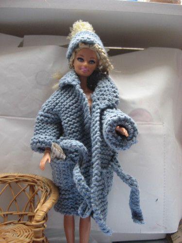 tricoter un bonnet pour barbie