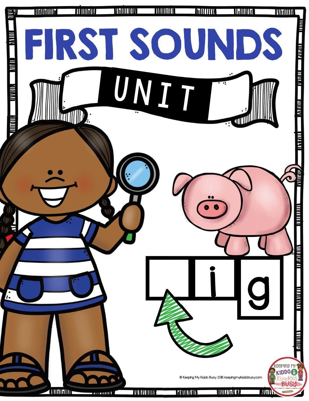 Teaching First Sounds